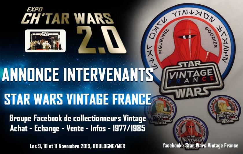 Expo CH'TAR WARS 2.0 Du 09 au 11 Novembre 2019 Vintag10