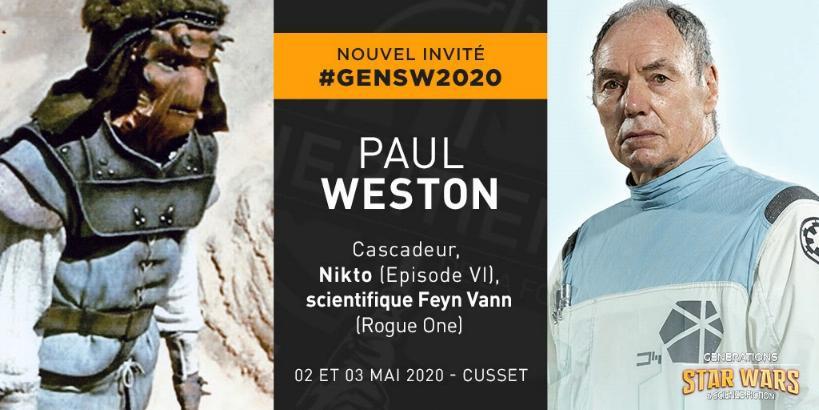 Générations Star Wars et SF 22 - 2 et 3 mai 2020 Weston10