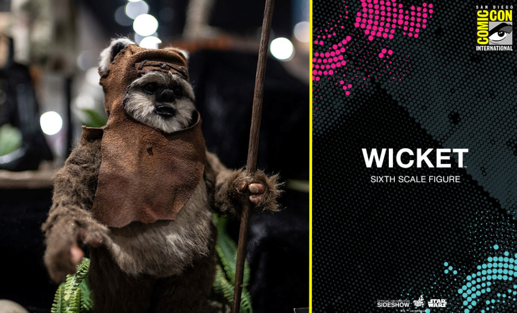 Wicket Sixth Scale Figure - Hot Toys Star Wars Wicket10