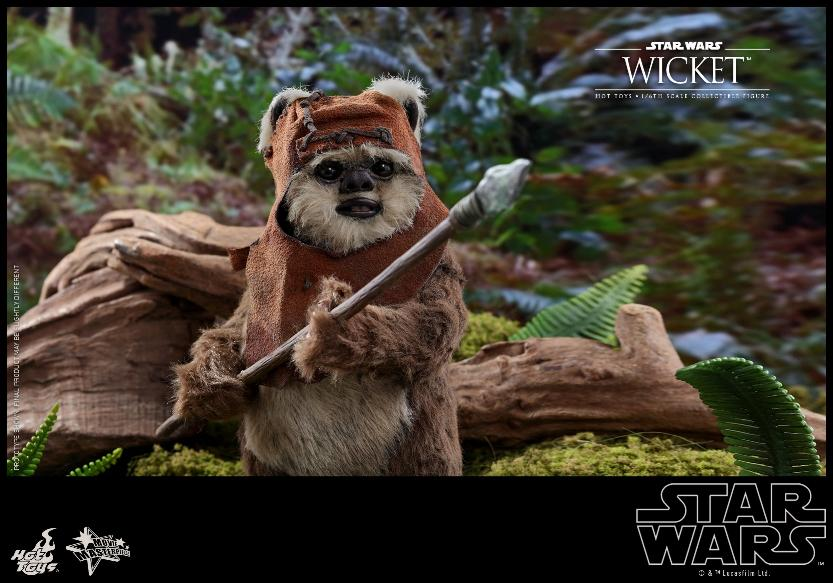 Wicket Sixth Scale Figure - Hot Toys Star Wars Wicket19