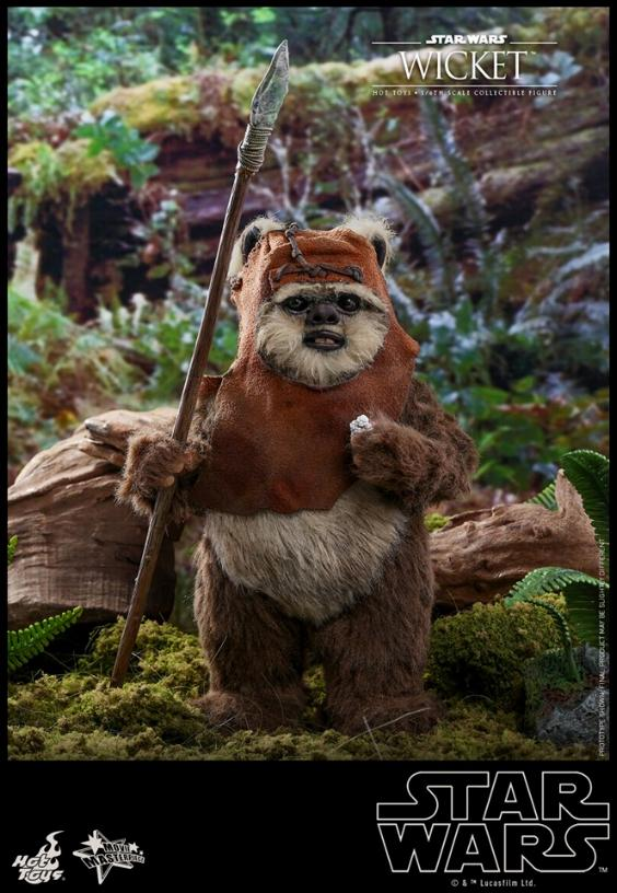 Wicket Sixth Scale Figure - Hot Toys Star Wars Wicket22