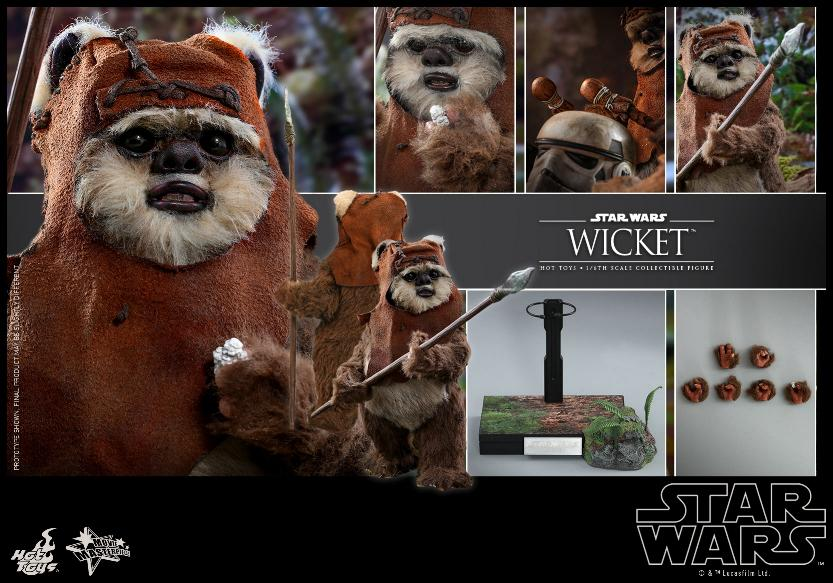 Wicket Sixth Scale Figure - Hot Toys Star Wars Wicket26