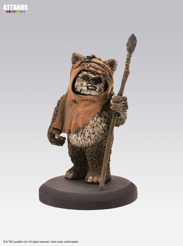 ATTAKUS - Star Wars Elite Collection 1/10 Wicket Statue Wicket37
