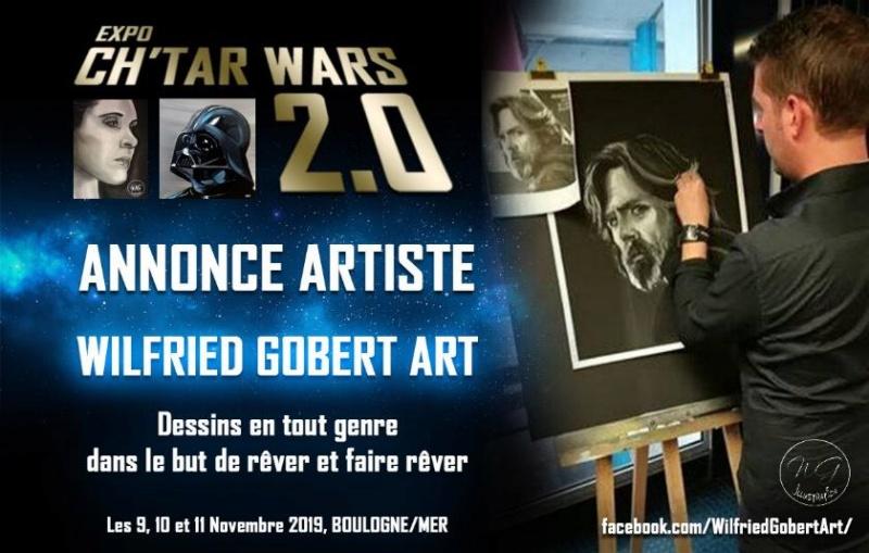 Expo CH'TAR WARS 2.0 Du 09 au 11 Novembre 2019 Wilfri10