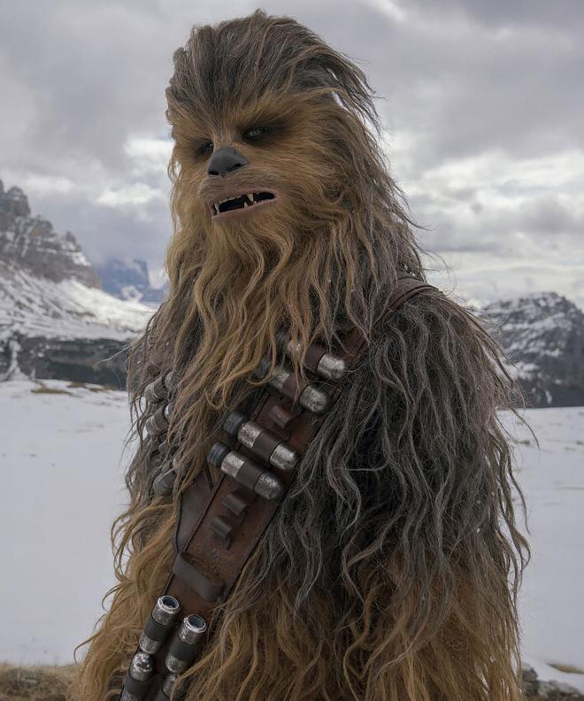 Les RUMEURS de la série Star Wars The Mandalorian - Page 2 Wookie10