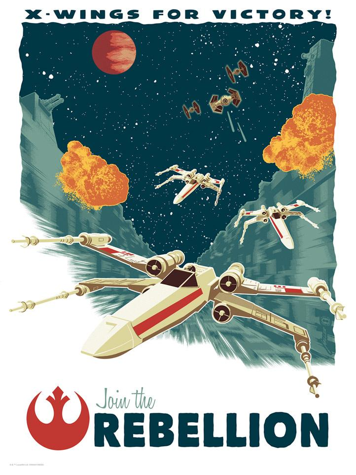 X-Wings for Victory - Star Wars - Dark Ink X-wing10