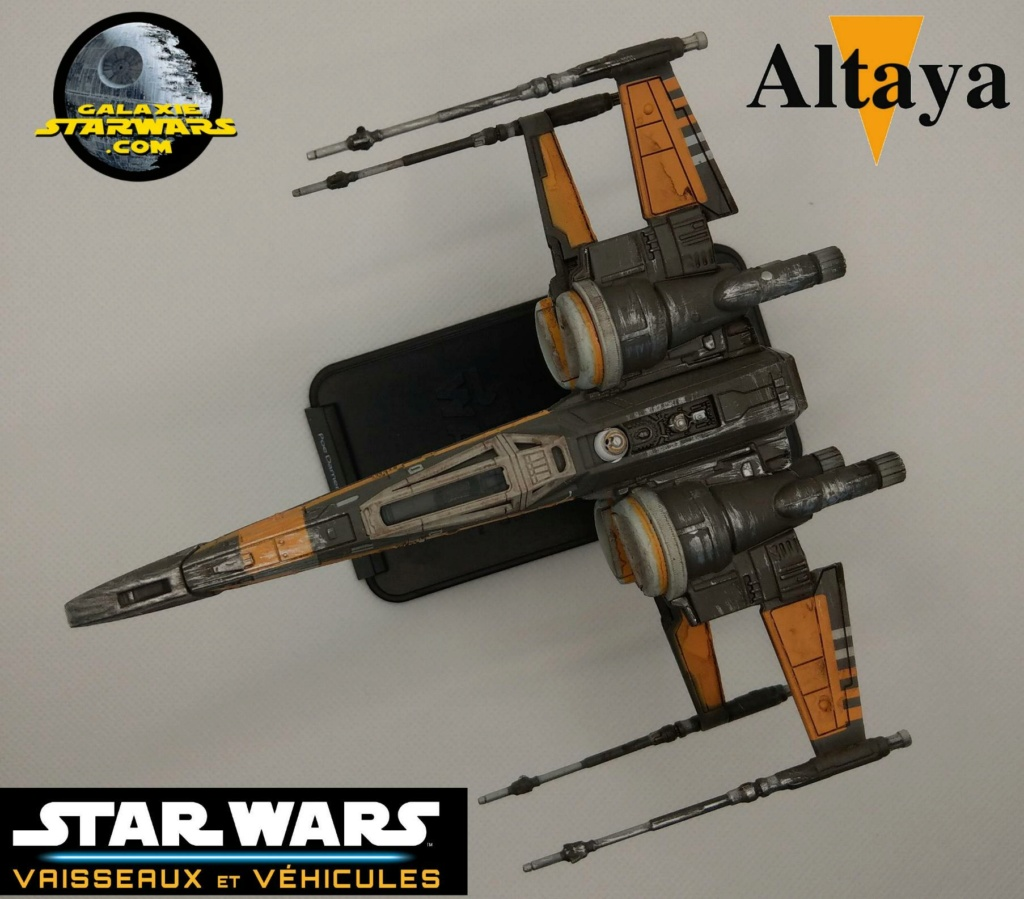 Collection Star Wars Vaisseaux et Véhicules - Altaya Xwing_11