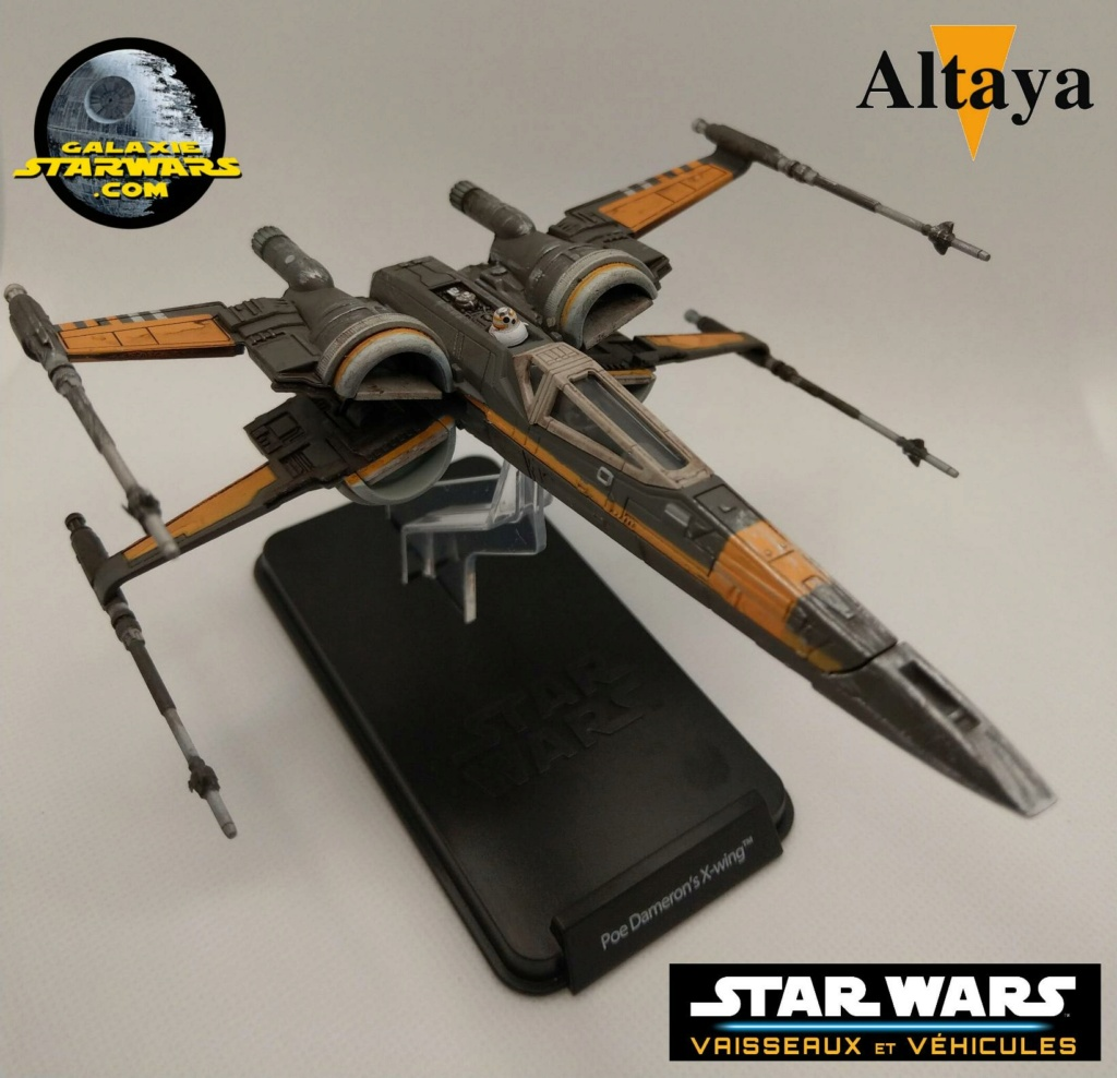 Collection Star Wars Vaisseaux et Véhicules - Altaya Xwing_16