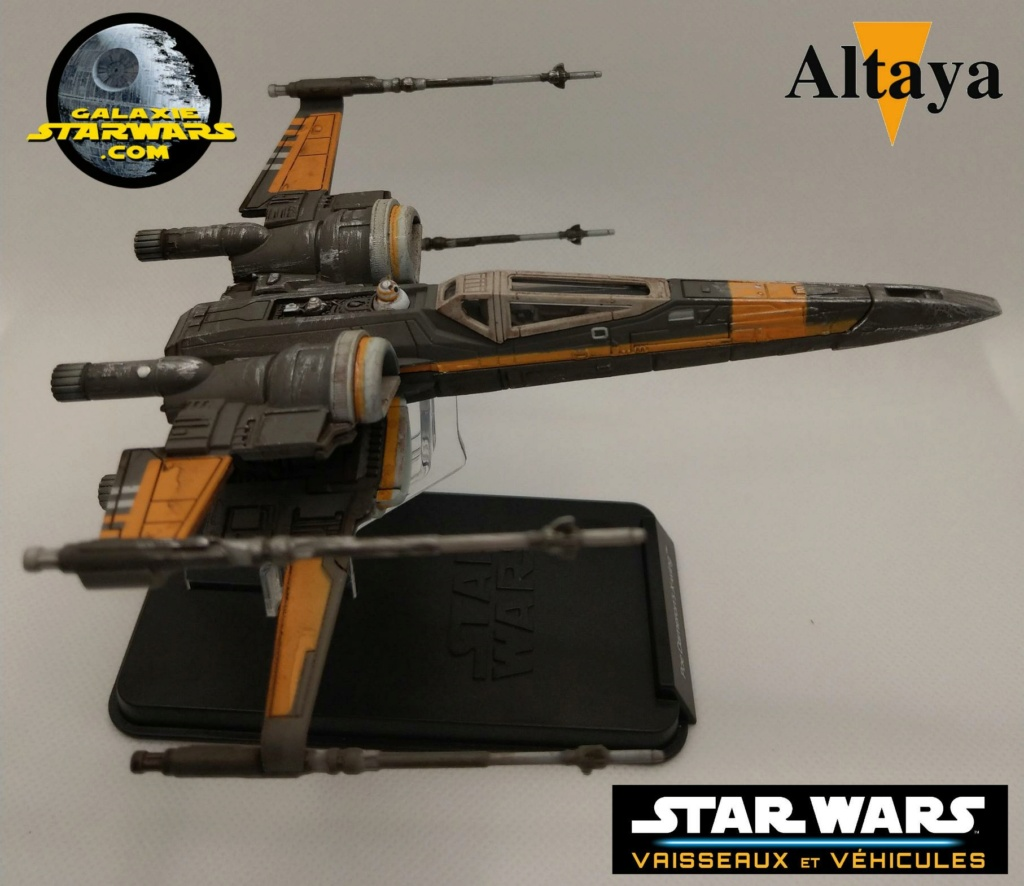 Collection Star Wars Vaisseaux et Véhicules - Altaya Xwing_18