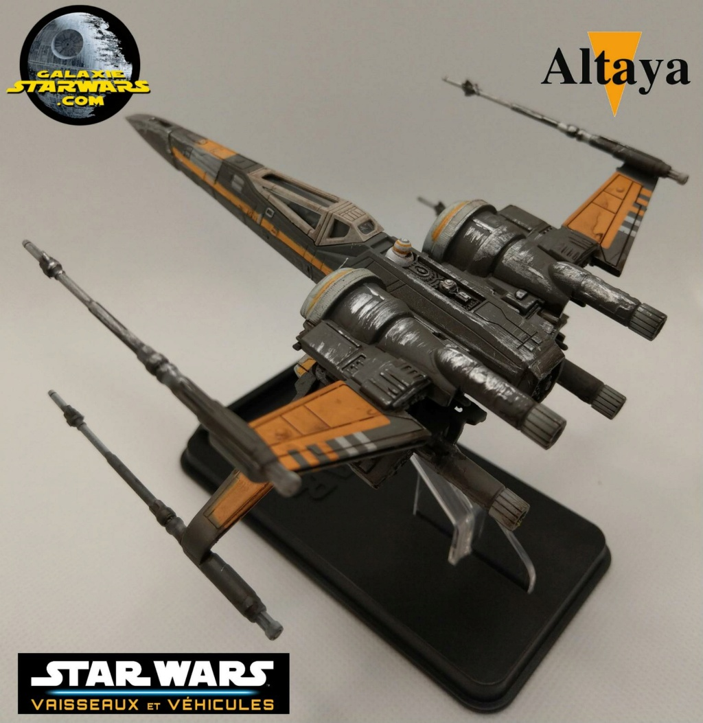 Collection Star Wars Vaisseaux et Véhicules - Altaya Xwing_20