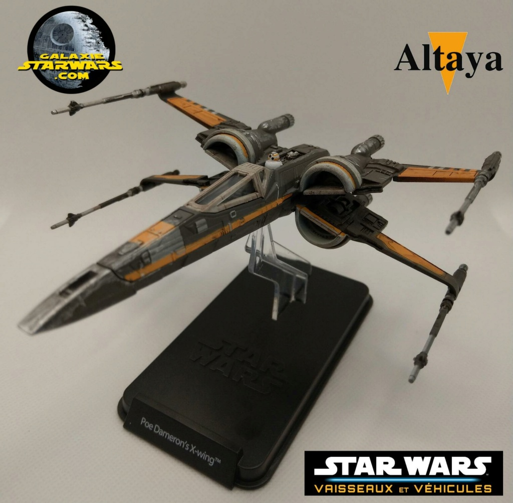 Collection Star Wars Vaisseaux et Véhicules - Altaya Xwing_23