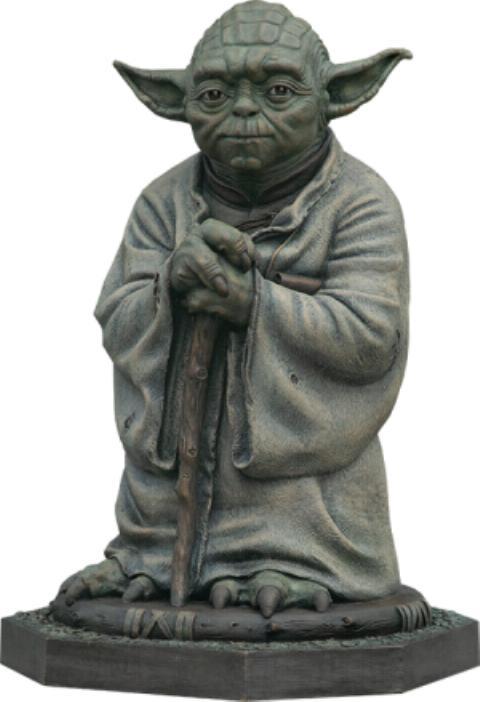 Yoda Bronze Life-Size Statue - Sideshow Collectibles  Yoda-b10
