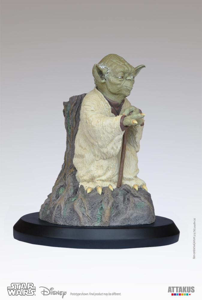 ATTAKUS - Star Wars 1/5 Statue Yoda using the Force Yoda-t11