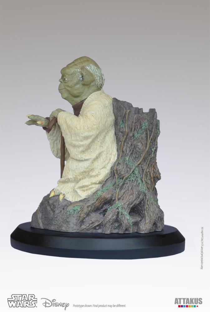 ATTAKUS - Star Wars 1/5 Statue Yoda using the Force Yoda-t12