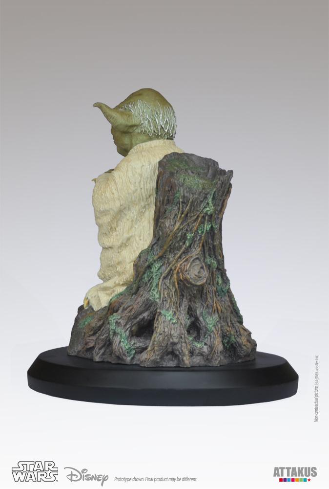 ATTAKUS - Star Wars 1/5 Statue Yoda using the Force Yoda-t13