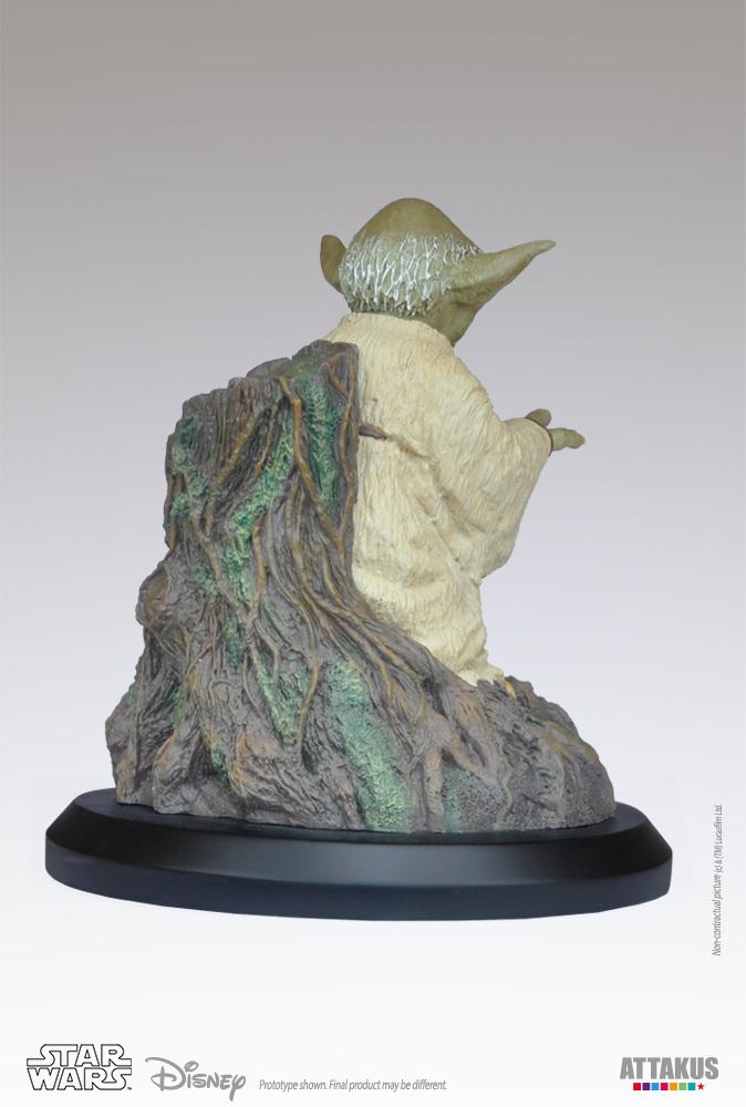 ATTAKUS - Star Wars 1/5 Statue Yoda using the Force Yoda-t15