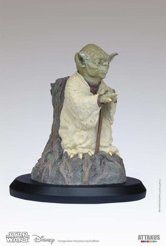 ATTAKUS - Star Wars 1/5 Statue Yoda using the Force Yoda-t16