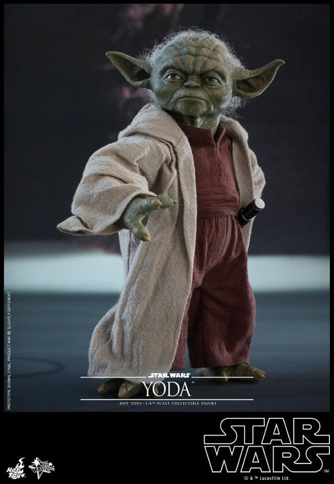 Hot Toys SW EP 2 - 1/6th scale Yoda Collectible Figure. Yoda_e21