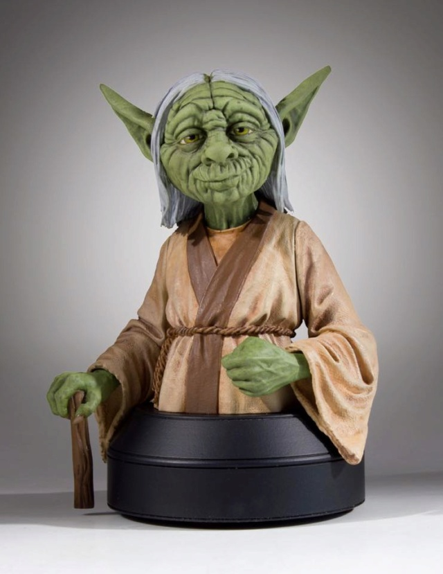 Gentle Giant SDCC 2018 Exclusive Yoda McQuarrie Mini Bust Yoda_m12
