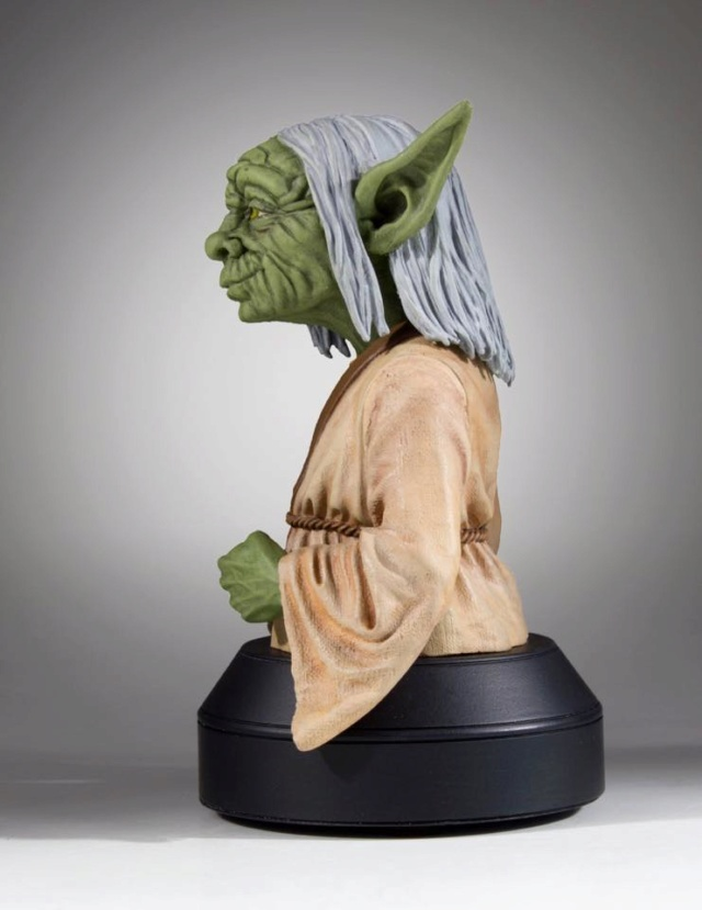 Gentle Giant SDCC 2018 Exclusive Yoda McQuarrie Mini Bust Yoda_m13