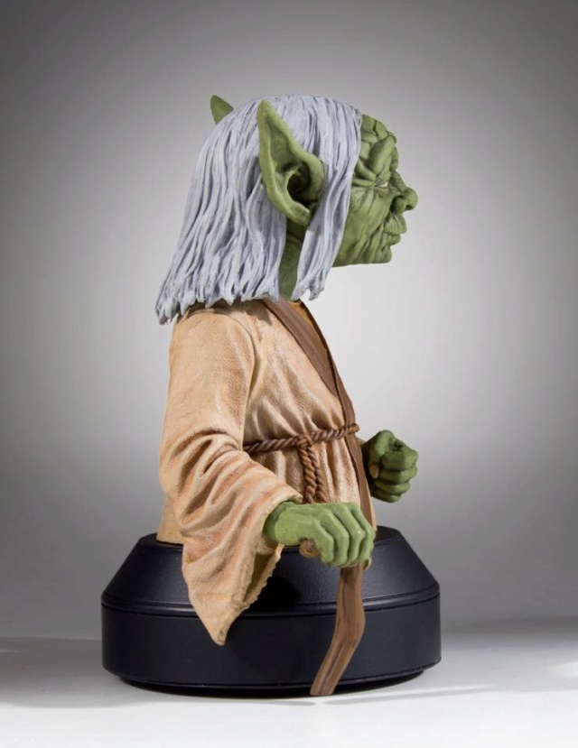 Gentle Giant SDCC 2018 Exclusive Yoda McQuarrie Mini Bust Yoda_m15
