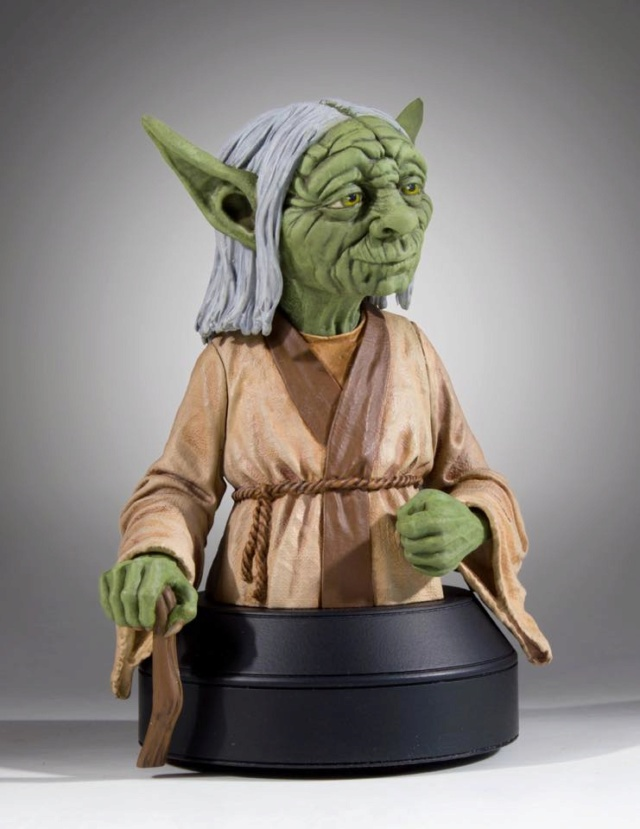 Gentle Giant SDCC 2018 Exclusive Yoda McQuarrie Mini Bust Yoda_m16