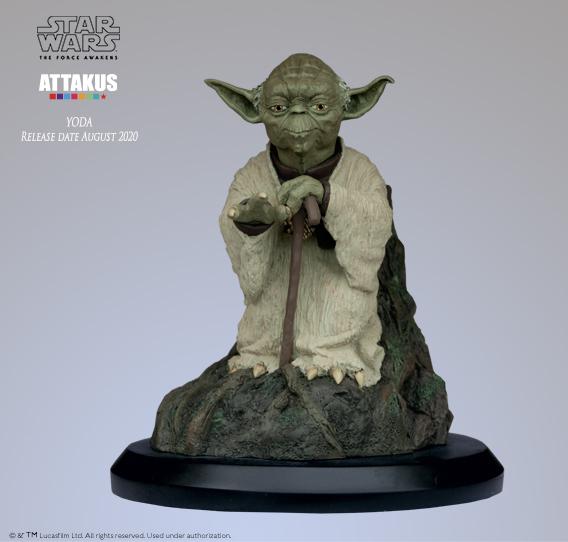 ATTAKUS - Star Wars 1/5 Statue Yoda using the Force Yoda_u10