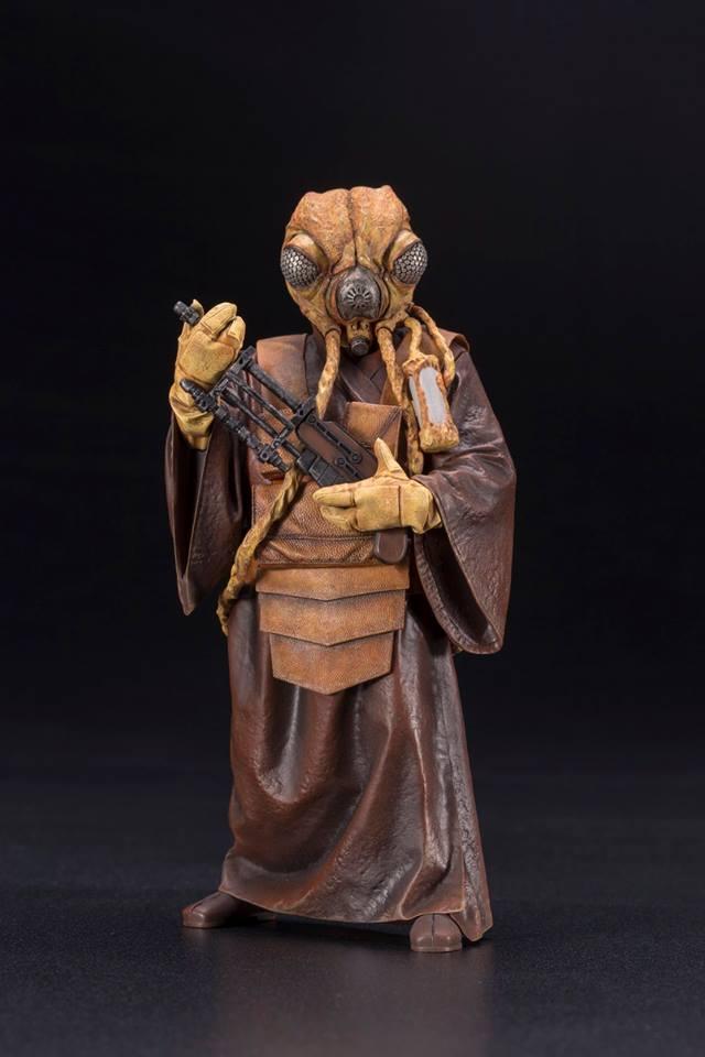 Kotobukiya - Star Wars ESB - Zuckuss ARTFX+ Statue Zuckus10
