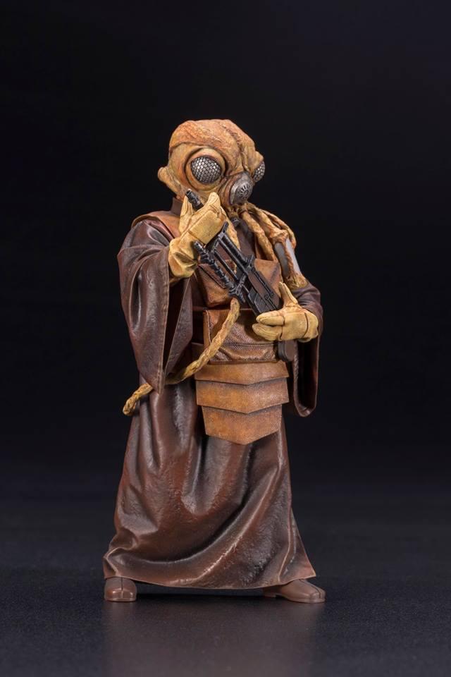 Kotobukiya - Star Wars ESB - Zuckuss ARTFX+ Statue Zuckus11