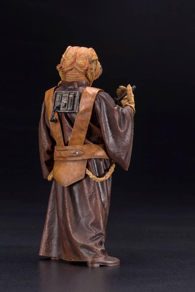 Kotobukiya - Star Wars ESB - Zuckuss ARTFX+ Statue Zuckus12