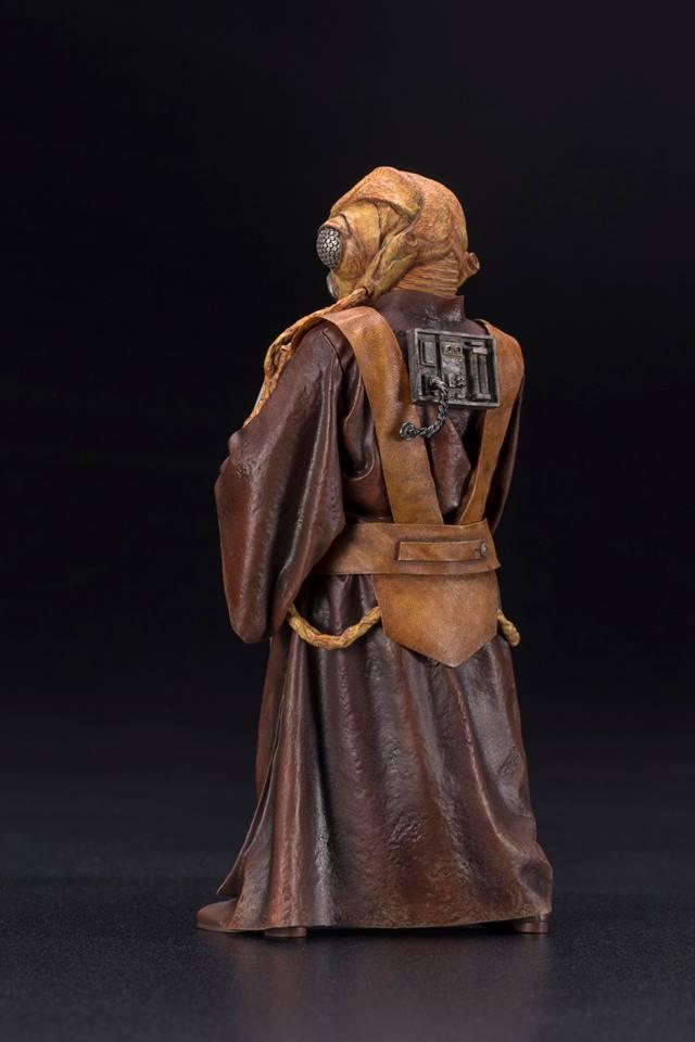 Kotobukiya - Star Wars ESB - Zuckuss ARTFX+ Statue Zuckus13