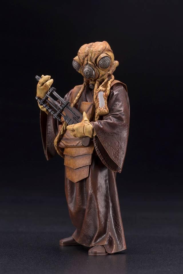Kotobukiya - Star Wars ESB - Zuckuss ARTFX+ Statue Zuckus14
