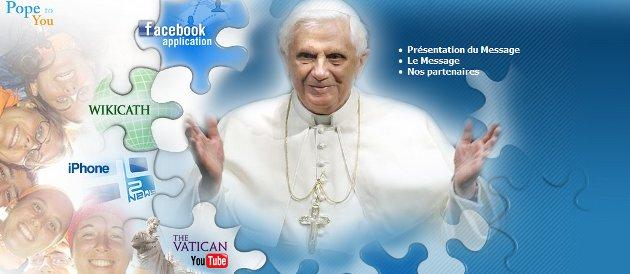 le pape invite les jeunes à exprimer leur foi en ligne 46810_10
