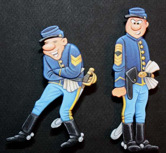 Les Tuniques Bleues Tuniqu10