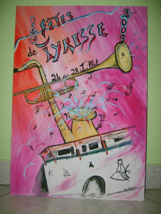 affiche pour corrida/fête Avril_13