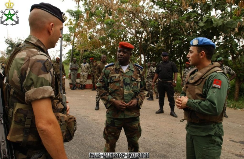 Marins et infanterie de Marine / Royal Moroccan Marines and Sailors Echang10