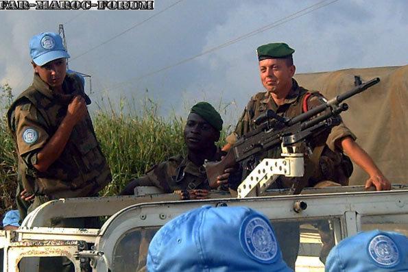 Les F.A.R et le maintien de la paix au monde - Page 3 Une_pa10