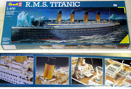 Titanic Revell 1/400ème 3rtk0510