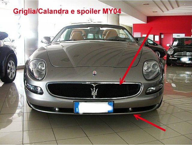 caratteristiche Model Year '05 96884710