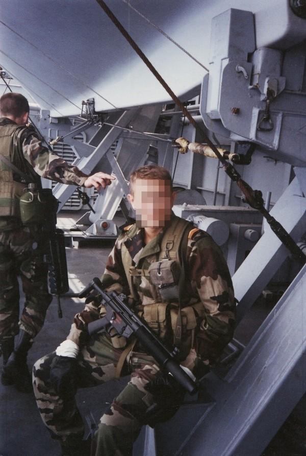 La Marine un autre corps d'élite: Cols bleus et Pompons Rouges.... Foudre10