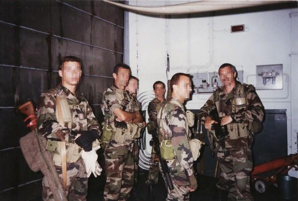 La Marine un autre corps d'élite: Cols bleus et Pompons Rouges.... Foudre11