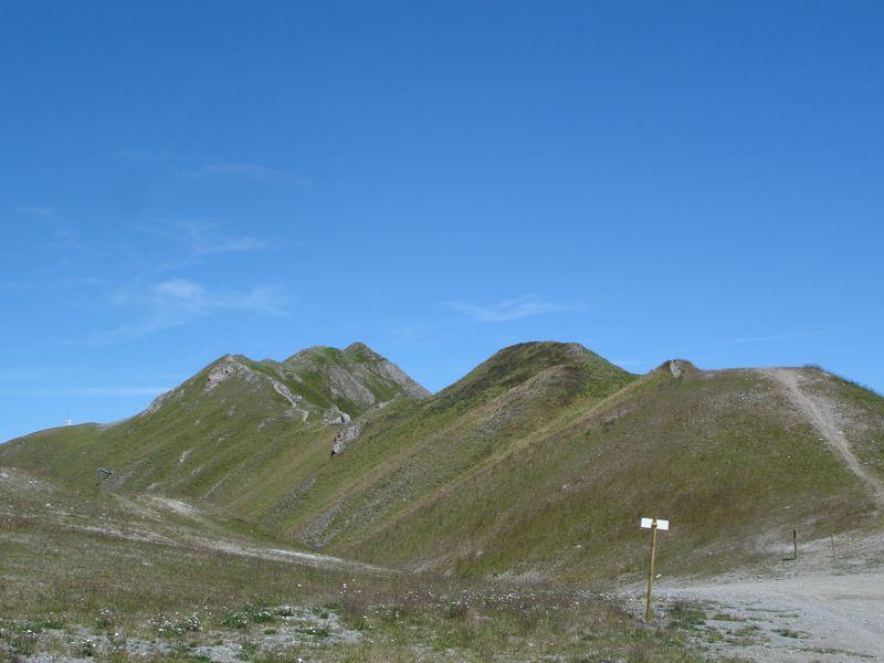 Val Claret - Col de Fresse - Crêtes - Lavachet Dsc03414