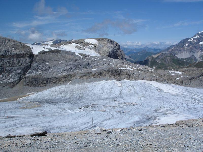 [Tignes]L'avenir du glacier de Grande-Motte Dsc04022