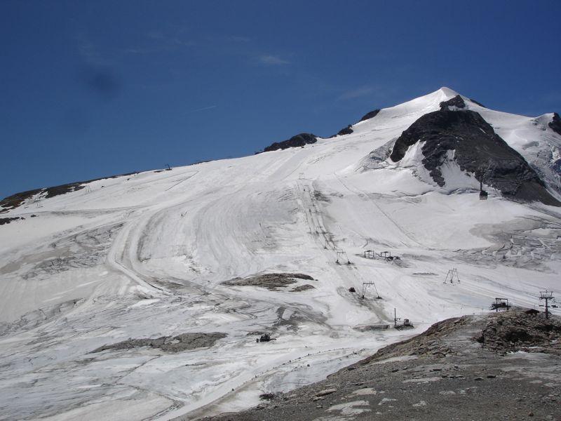 [Tignes]L'avenir du glacier de Grande-Motte Dsc04024