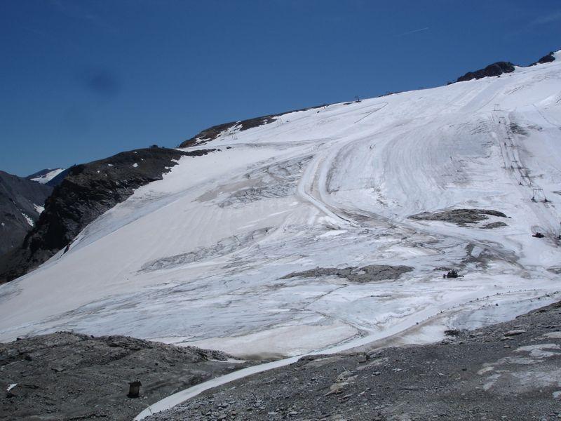 [Tignes]L'avenir du glacier de Grande-Motte Dsc04025