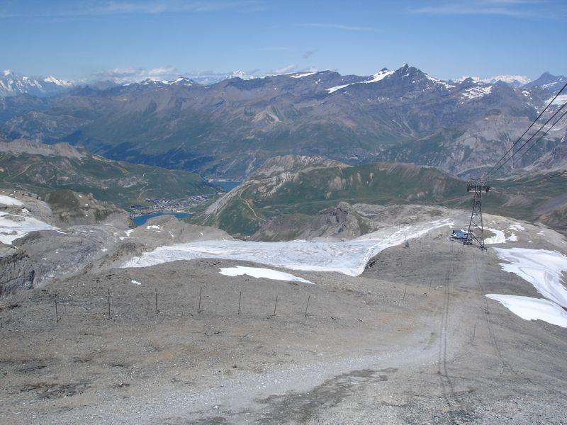 [Tignes]L'avenir du glacier de Grande-Motte Dsc04029