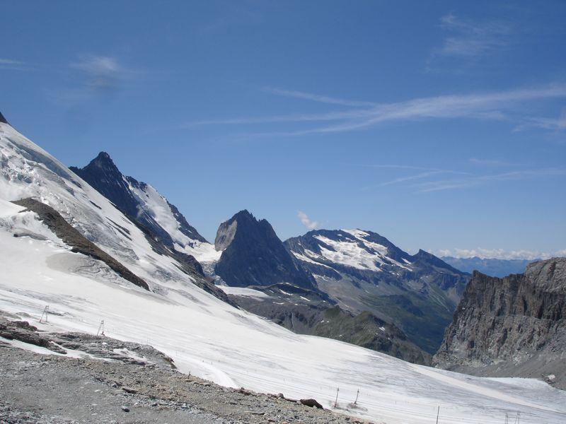 [Tignes]L'avenir du glacier de Grande-Motte Dsc04110
