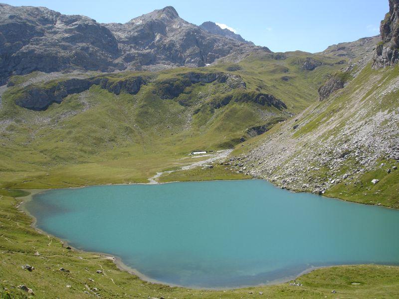Peisey / lac de la Plagne / col du Plan Séry Dsc04239