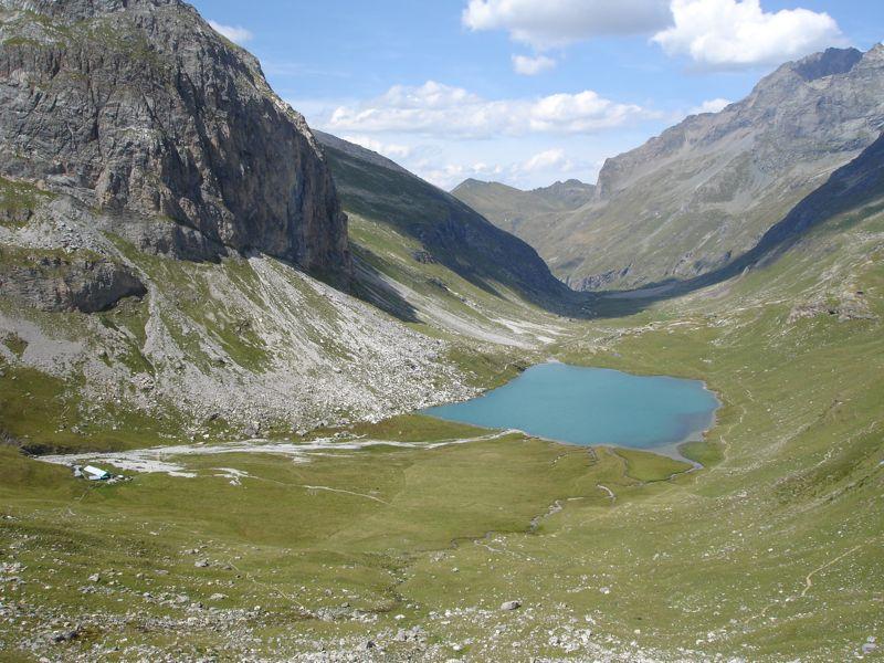 Peisey / lac de la Plagne / col du Plan Séry Dsc04245