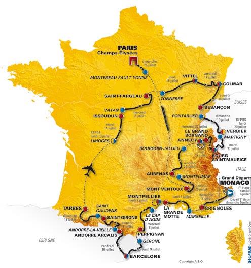 Le Tour de France passe en Tarentaise Lacart10